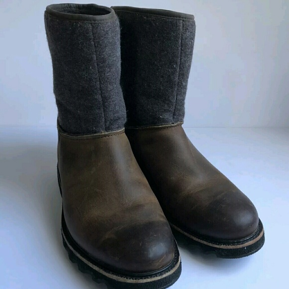 Mens Winter Slip On Boots